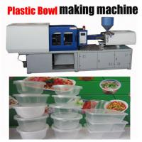 Energy Efficiency Plastic Injection Molding Machine For Plastic Case 800mm Table Height