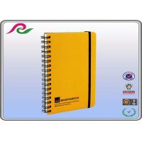 Buy cheap pp cover eco recycled Spiral Bound Notebooks with elastic band from wholesalers