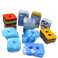 Buy cheap Plastic Shell Cold Ice Gel Packs , Cool Box Freezer Packs Environmental - Friendly from wholesalers