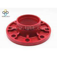 Buy cheap CCC FM UL Good quality Groove flange Ductile iron grooved fittings from wholesalers