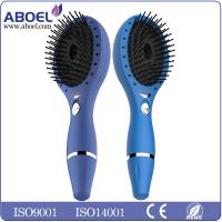 Rechargeable Ionic Hair Comb Led Light Therapy Blue With