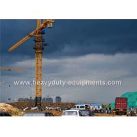Buy cheap Safety Concrete Construction Equipment Luffing Jib Tower Crane 161M Max Height For Max Load from wholesalers