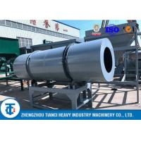China Compound NPK Fertilizer Coating Equipment with Rubber / Acid - Resistant SS Liner on sale