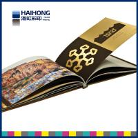 Buy cheap Environmental Hardcover Book Printing with silk ribbon , professional photography book printing from wholesalers