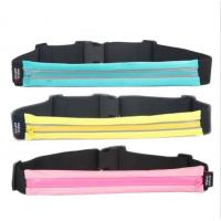 Buy cheap Waterproof Hiking Money Travel Waist Bag For Sport 40*5.5 Cm from wholesalers