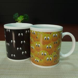 China Promotion Gift 11 Oz Color Changing Coffee Mug Printing Logo on sale