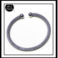 Buy cheap Popular Stainless Steel Jewelry Mesh Bangle Wholesale from wholesalers