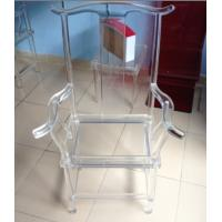 Quality Clear Eco-Friendly Modern Acrylic Furniture For Office , Acrylic Desk Chair for sale