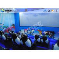 Buy cheap Mobile Seating Chairs 5D Cinema System Spray Air / Spray Water 5D Motion Simulator product
