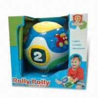 Buy cheap B/O Fun Rolling Ball with Flashing Light and 3 x AA Batteries from wholesalers