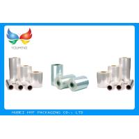 Buy cheap 50% Heat Shrinkable PVC Sleeves Shrink Film Rolls For Tamper Proof Shrink Seals from wholesalers