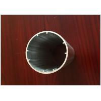 6063 T5 Round Tube Aluminum Extrusion Profiles Black Electrophoresis Finish for Dia 25MM / 22MM