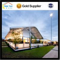 Buy cheap 500 People Luxury Transparent Wedding Tent with roof  linings and curtains from wholesalers