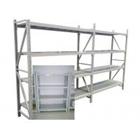 Buy cheap Adjustable Steel Freestanding Shelving Unit For Storage , Powder Coated Surface Treatment from wholesalers