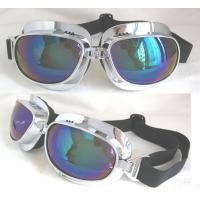 Buy cheap Customer design frame color optional Motorcycle Goggles Glasses with 100%UV protection from wholesalers