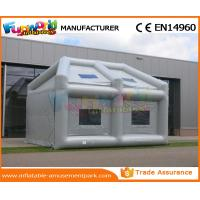 Buy cheap PVC Tarpaulin Inflatable Party Tent PVC Coated Nylon Car Washing Large Inflatable Tent from wholesalers