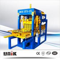 China Best-selling Concrete Brick Making Machine QT3-15 model with low price on sale