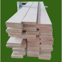 Buy cheap 16' white gesso primed trim board, S4S Board, flat frame, finger joint board from wholesalers