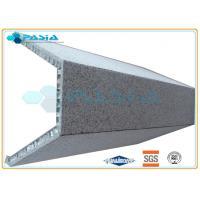 High Rise Building Cladding U Shape Granite Honeycomb Stone Panels Hammered