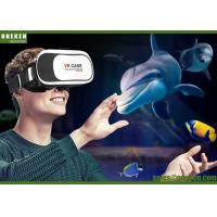Buy cheap 3D Glasses Video VR ALL IN ONE 85 - 95 Degrees With Spherical Resin Lens from wholesalers