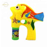 Buy cheap Plastic Clown Fish Bubble Shooter Bubble Gun Toy 3*AA Batteries Included from wholesalers