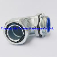 Buy cheap 1/2 90d elbow liquid tight zinc alloy flexible conduit fittings with G thrtand standard from wholesalers