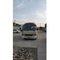 Buy cheap mini toyota coaster bus in shanghai china ,diesel /gas/gasoline engine bus for sale with 30 seats from wholesalers