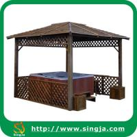 Buy cheap Retro Wooden Gazebo For Hot Tub(WG-08) from wholesalers