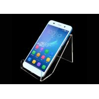 Buy cheap Custom Acrylic Mobile Phone Display Stand Anti Scratch Protective Film from wholesalers