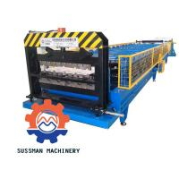 Buy cheap Metal Galvanized Aluminum Roof Panel Roll Forming Machine With Seam Boltless from wholesalers