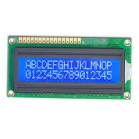 Buy cheap Factory supply cheap 5V STN COB style 16x2 character lcd display module with LED backlight support parallel interface from wholesalers
