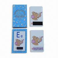 Buy cheap Invisible Alphabet Game Card in Paper with Thermo-chromic Ink from wholesalers