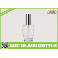 Buy cheap Perfume Use And Screw Sealing Type Empty Clear Glass Bottle from wholesalers