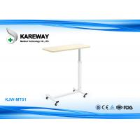 Buy cheap Folding Patient Hospital Tray Table , ABS Bedside Table For Hospital Bed from wholesalers