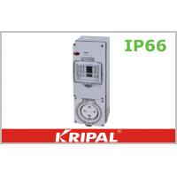 Buy cheap 32 AMP 500V 4 Round Pin Waterproof Electrical Outlets RCD Protected from wholesalers