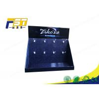 Buy cheap Custom Stable Retail Cardboard Counter Display With 8 Plastic Hooks from wholesalers