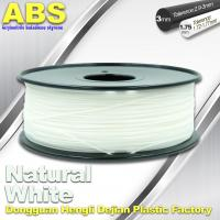 Buy cheap Good eEasticity 3D Printing Materials Transparent ABS Filament For Cubify Printer product