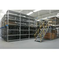 Buy cheap Industrial Warehouse Steel Storage System Customized Mezzanine Racking from wholesalers