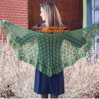 Buy cheap Lady's Crochet Knitted Shawl,Hand Knitted Shawl ,Women Poncho, Free Knitting Crochet Woman from wholesalers