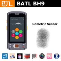 Buy cheap BATL BH9 ip65 rugged pda with fingerprint sensor 1D/2D scanner and RFID reader 3G wifi bluetooth from wholesalers