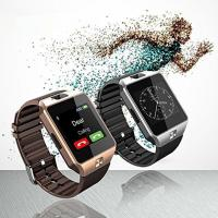 China 2G GSM Bluetooth Smart Watch Rubber Band For IPhone / Samsung HUAWEI / LG on sale
