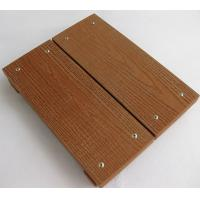Buy cheap Antislip WPC Deck Flooring For Garden , Lawn , Balcony 140mm*25mm from wholesalers