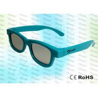Buy cheap High Brightness / Bright - Colored Circular Polarized 3d Glasses For Master Image 3D Cinem from wholesalers