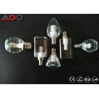 Buy cheap Clear Crystal Led Candle Light Bulbs Lm80 Dimmable Type 90lm / W 4000k from wholesalers