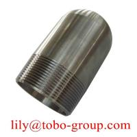 Buy cheap Nickel Alloy ASTM / ASME SB 336 UNS 2200 Male Forged Fittings MSS SP 95 NPT Male Bull Plug from wholesalers