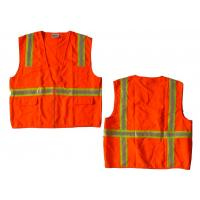 Buy cheap Unisex Safety High Visibility Work Vest With PVC Tape And Knitted Fabric from wholesalers