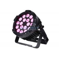Buy cheap Epistar LED RGB Stage Lighting / 18X15w Rgbwa 5 In 1 LED Par Light from wholesalers
