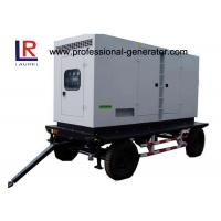 Buy cheap Low Noise 8kw to 500kw Diesel Mobile Power Generator with AC 3 Phase Digital Control Panel product