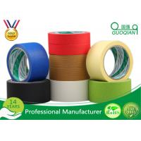 Buy cheap High Tmperature Car Masking Tape , Adhesive Pinstripe Masking Tape  22.9m - 1000m from wholesalers