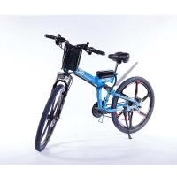 Buy cheap Aluminum Alloy Folding Electric E Bike Wear Resistant Steel Suspension Frame from wholesalers